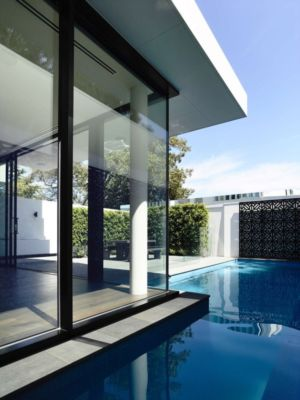 piscine - Bayside townhouses par Martin Friedrich architects - Melbourne, Australie