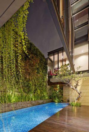 piscine - Ben House-GP par Wahana Architects - Jakarta, Indonésie