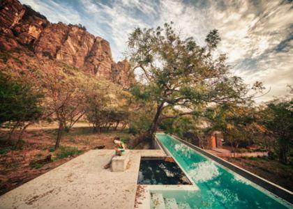 piscine - Casa-Meztitla par EDAA - Tepoztlan, Mexique