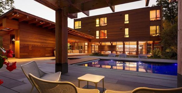 piscine - Chalon residence par Dynerman Architects - Bethesda, Usa