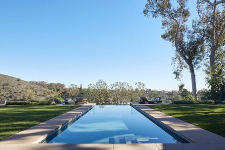 piscine - Chatauqua Residence par Studio William Hefner - Californie, Usa
