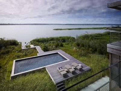 piscine - Cove Residence par Stelle Lomont Rouhani Architects - Hamptons, Usa