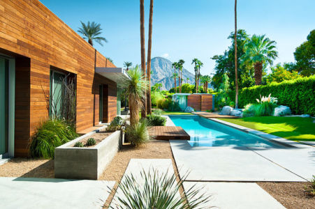 piscine - F-5 Residence par Studio AR+D Architects - Indian Wells, Usa