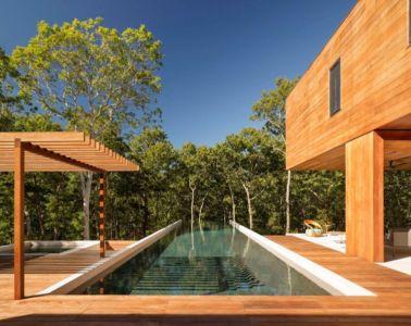 piscine - Hamptons Home In The Woods par Rangr Studio - Southampton, New York, Usa