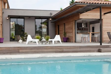 piscine - House-in-Lyon par Damien Carreres - Lyon, France