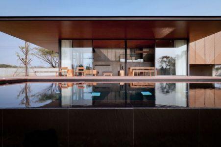 piscine - KA-House par IDIN Architects - Pak Chong, Thaïlande