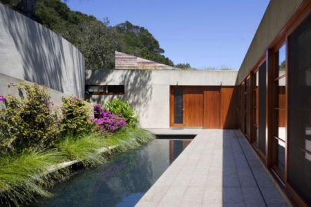 piscine - Kentfield Residence par Turnbull Griffin Haesloop Architects - Kentfield, Usa