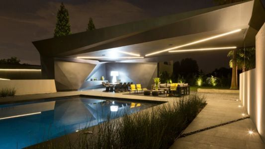 piscine - Kloof-Road-House par Nico van der Meulen Architects - Johannesburg, Afrique du Sud