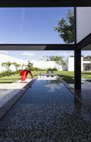 piscine - Montebello 321 par Jorge Bolio Arquitectura - Merida, Mexique