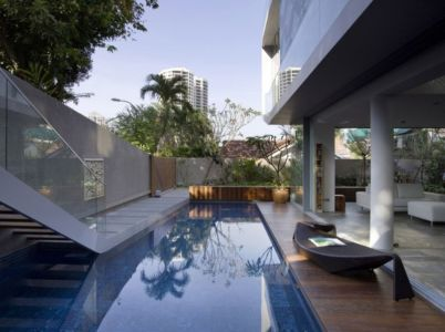 piscine - OOI House par Czarl Architects - Singapour