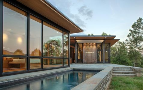 piscine - Piedmont Residence par Carlton Architecture - Asheville, Usa