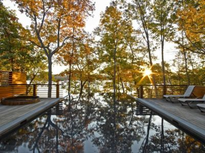 piscine - RiverBanks par Foz Design - Saugerties, Usa