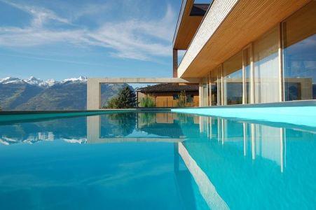 piscine - Schaan Residence par K_M Architektur - Liechtenstein