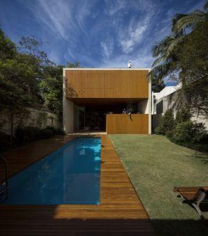piscine - Tetris House par Studio mk27 - São Paulo, Brésil