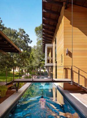 piscine - The Hog Pen Creek Residence par LakeFlato - Austin, Usa