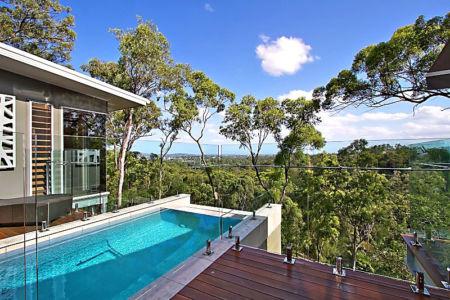 piscine - Treetops Residence par Artas Architects & D Pearce Constructions - Toowong, Australie