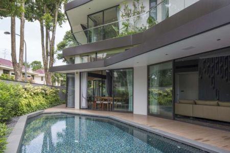 piscine - Trevose-House par Ad-Lab - Singapour
