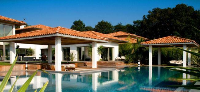 piscine - Villa Hermitage - Arbonne, France