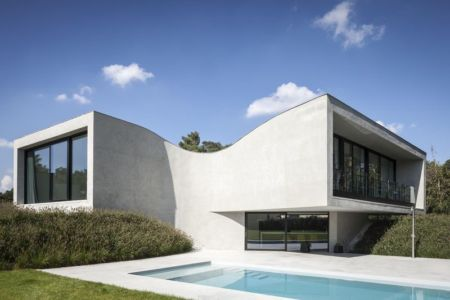 piscine - Villa-MQ par Office O architects - Belgique
