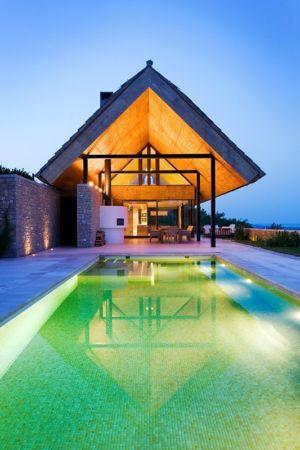 piscine - Villa du lac Balaton par FBI studio - Balatonfüred, Hongrie