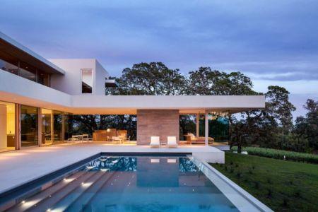 piscine - Vineyards-Residence par Swatt Miers Architects - Californie, USA