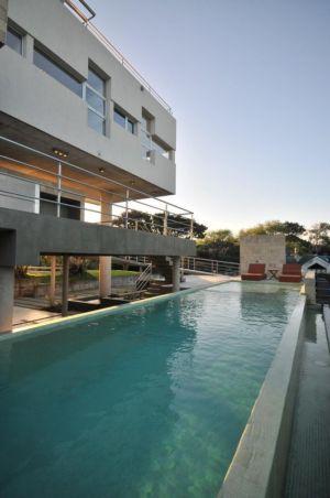 piscine - Wanka House par Estudio Arquitectura Galera - Cariló, Argentine
