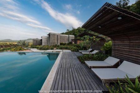 piscine & bains soleil - La-Plantation par Acyc Sarl - Kampot, Cambodge
