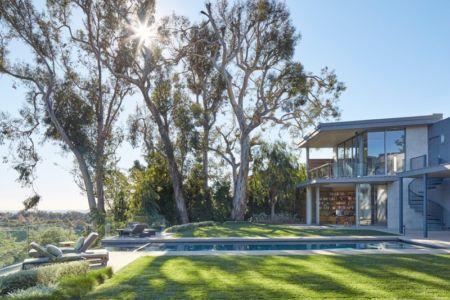 piscine et panorama - Chatauqua Residence par Studio William Hefner - Californie, Usa