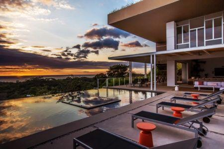 piscine et panorama - Kalia's EOS - location - Costa Rica