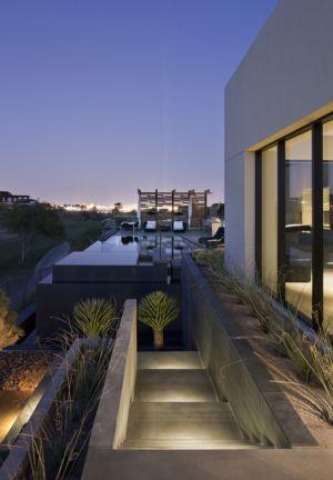 piscine et panorama sur Las Vegas - Tresarca House par assemblageSTUDIO - Las Vegas, Nevada, Usa