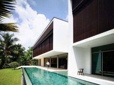 piscine et terrasse - 59BTP House par ONG&ONG - Singapour