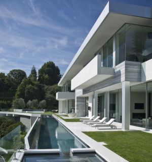 piscine et terrasse - Sarbonne par McClean Design - Los Angeles, Usa