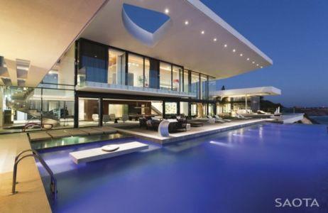 piscine et terrasses - Maison de rêve par Saota, Dakar, Sénégal