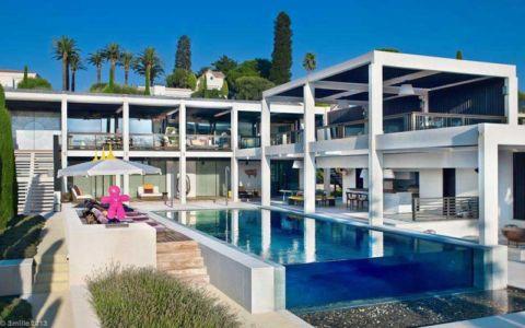 piscine et terrasses - villa location - France