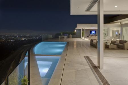 piscine et vue panoramique - Carla Ridge par McClean Design - Beverly Hills, Usa