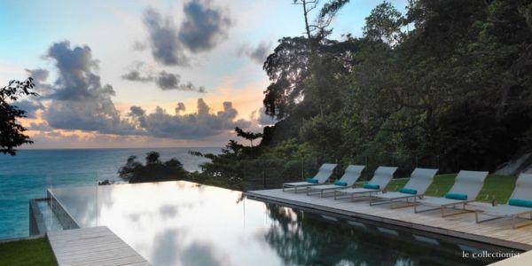 piscine et vue sur océan - Villa Kamala-Phuket, Thaïlande