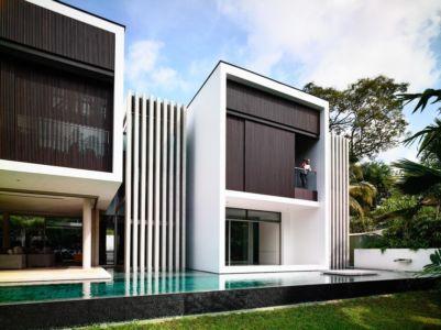 piscine façade - 59BTP House par ONG&ONG - Singapour
