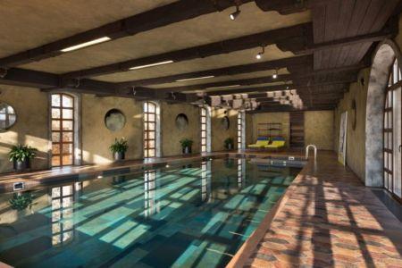 piscine intérieure - Residence-BO par Baraban+design studio - Kiev, Ukraine