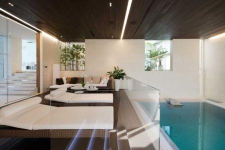 piscine intérieure - Villa Agalarov par SL Project - près de Moscou, Russie