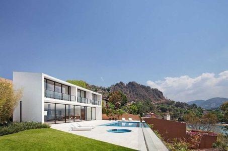 piscine terrasse - Casa Cardenas par ParqueHumano Valle de Bravo, Mexique