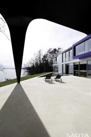 piscine terrasse - villa afro-européenne par Saota - Genève, Suisse