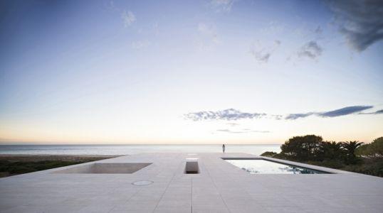 piscine toiture - Casa del Infinito par  Alberto Campo Baeza - Cadix, Espagne - photo Javier Callejas Sevilla