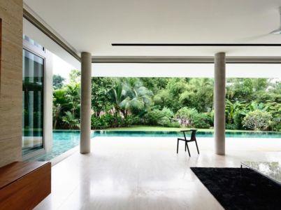 piscine vue terrasse - 59BTP House par ONG&ONG - Singapour