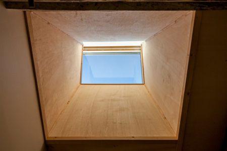 plafond en bois - ladaa par JKA Jérémie Koempgen Architecture - Craon, France
