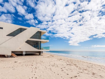 plage - villa contemporaine à Malibu, Usa