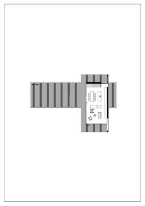 plan 2D 1 - house-dornbirn par KM Architektur en Suisse