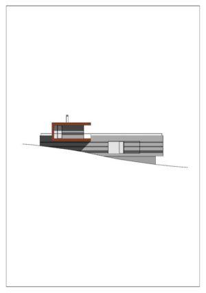 plan 2D 2 - house-dornbirn par KM Architektur en Suisse