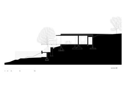 plan 2D - Riparian-House - Architecture Brio - Karjat, Inde