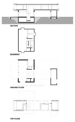 plan 2D - during-tannay par Christian Von During Architects - Tannay, Suisse