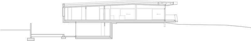 plan 2D section2 - Villas-2B par Love Architecture - Graz, Autriche
